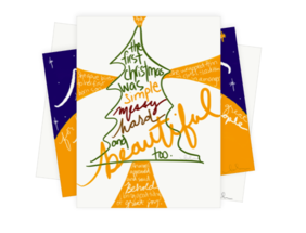 Christmas cards (random selection) - pack of 10